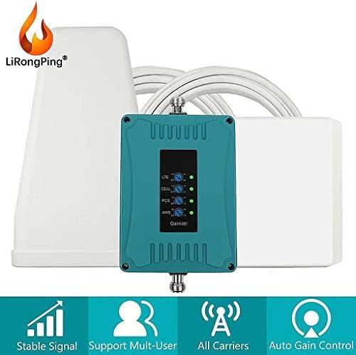 4G LTE AT&TVerizon 4G LTEデータ&音声コールホームアンプを向上させるための携帯電話の信号ブースター850分の700/1700 / 1900MHzの (Antenna : LPDA-Panel)