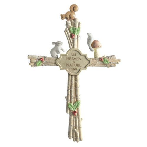 Grasslands Road Gifts of Glory Twig Cross with Animals