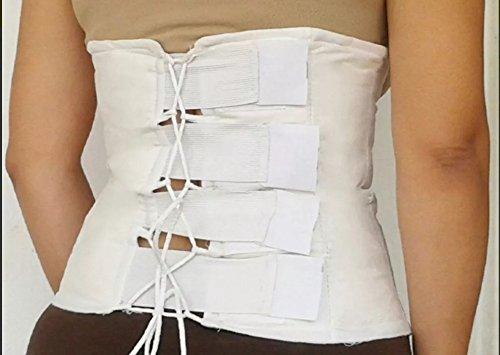 YESOTERAPIA Faja de yeso Reductora Moldeadora cinturilla Cintura de avispa tipo Corset Tallas varias 100% Original (L)