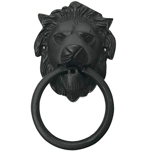 "6.5"" - Lion Face - BB-128 - Antique Style Door Knocker - Classic door Knocker"