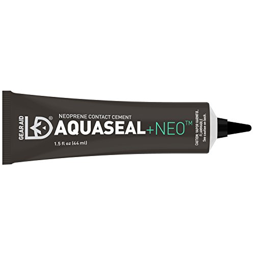 Gear Aid Aquaseal NEO Contact Cement for Neoprene and Wetsuit Repair, 1.5 fl oz