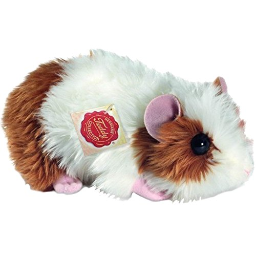 Hermann Teddy Colecci/ón 926191/18/cm Oro//Blanco Guinea Pig Plush Toy