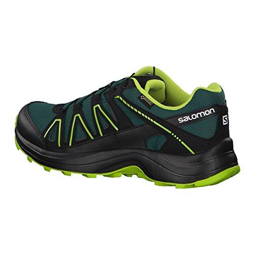 Salomon Scarpe da Camminata ed Escursionismo Uomo Verde/Nero