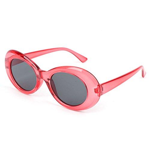 de hommes Rouge mode Transparent soleil 5cm lunettes Lunji 14 qYFtUU