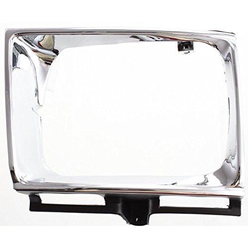 Headlight Door for Toyota Toyota Pickup 89-91 LH 4WD Chrome Black