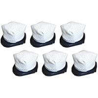 6 Pack Washable Shark SV736, SV738, SV748, SV760, SV780 Dust Cup Filters Designed & Engineered by Best Vacuum Filter