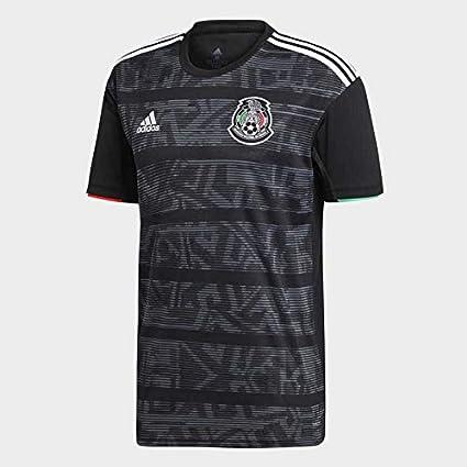 21a17b48fff2a Mexico Home Soccer Jersey Copa Oro 2019 Seleccion Mexicana Black