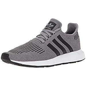 adidas Men's Swift Run Shoes,grey three/core black/medium grey heather,9.5 M US