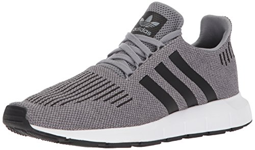(adidas Originals Men's Swift Run Shoes,grey /core black/medium grey heather,9 M US)