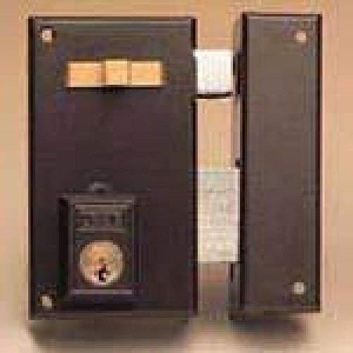 Yale, 56A60DHN, Cerradura de Sobreponer Estándar, Hierro Niquelado, 60 mm, 56A / Derecha