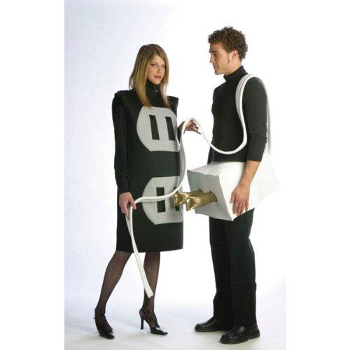 [Plug and Socket Set Costume Set - Plus Size - Chest Size 50-52] (Plug And Socket Plus Size Costumes)