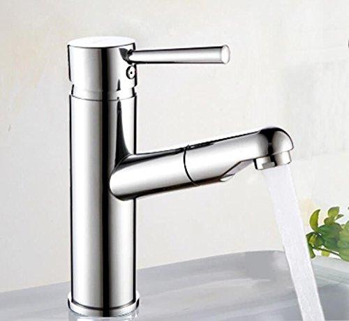 Decorry Alle Kupfer Badezimmer, Waschtisch Armatur Waschtisch Armatur Wasserhahn Ziehen Unten Becken Wasserhahn Keramik Disc Schieber