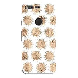 Cover It Up - Sand Star White Pixel Hard Case