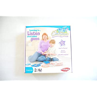 Playskool Noodleboro Pizza Palace Listening Game: Toys & Games