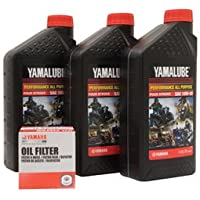 Yamalube Oil Change Kit 10W-40 for Yamaha KODIAK 400 4x4...