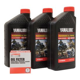 Yamalube Oil Change Kit 10W-40 for Yamaha BRUIN 350 4x4 2004-2006