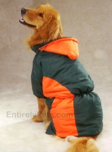 Zack Zoey Base Camp Parkas Green Orange, Size: SMALL