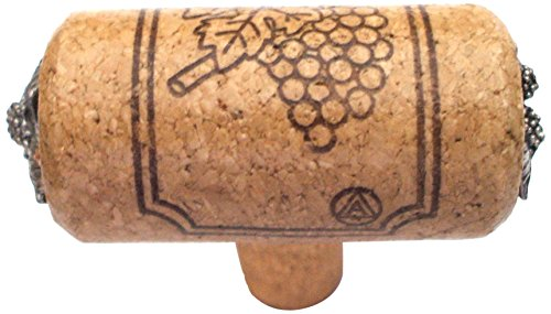 Vine Designs CHI-WAL-SL Chianti Series Wine Cork Knob with Accents