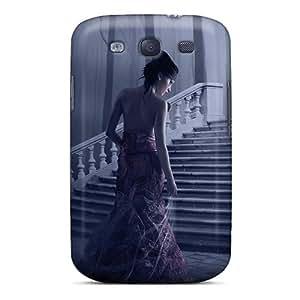 FutureStarCase Case Cover For Galaxy S3 - Retailer Packaging Fantasy Girl 13 Protective Case