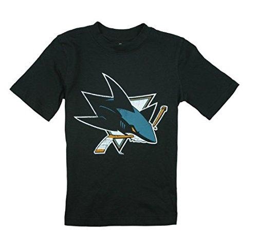 - Outerstuff San Jose Sharks NHL Big Boys Vintage Tee - Black (XL (16/18))