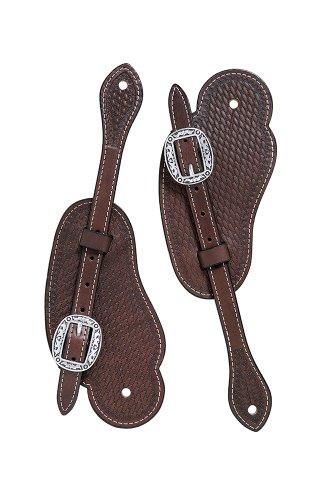 Spur Cowboy Style Straps - Weaver Leather Basin Cowboy Spur Straps