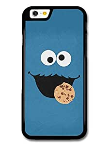Cookie Monster Muppet Blue Face Minimalist Poster TV Show case for iPhone 6