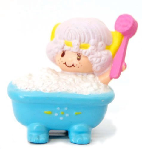 Strawberry Shortcake Mini Angel Cake Bubble Bath Kenner 1982 ()