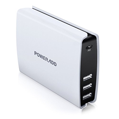 usb c wall charger 52w 4 port