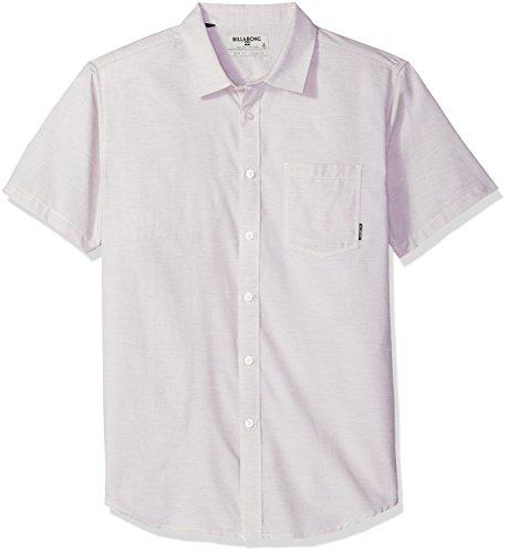 (Billabong Men's All Day Helix Short Sleeve Shirt, Off Off White XL)