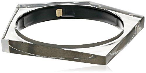 Alexis Bittar Ash-245 Asymmetrical Pentagon Bangle Bracelet