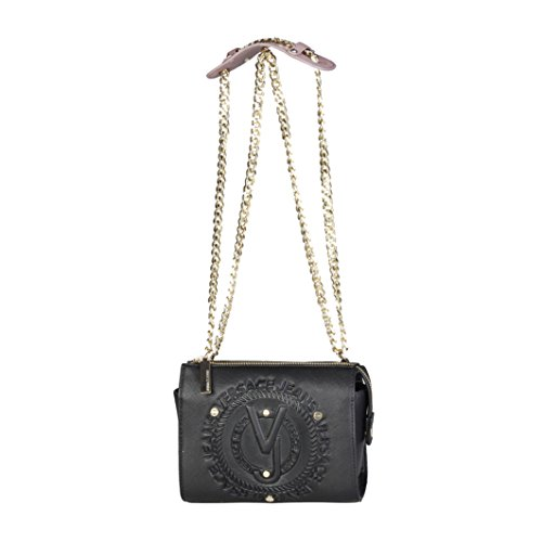 Versace Jeans Linea Q Dis 6 MI6 Saffiano Embossed, Bolsa de mano