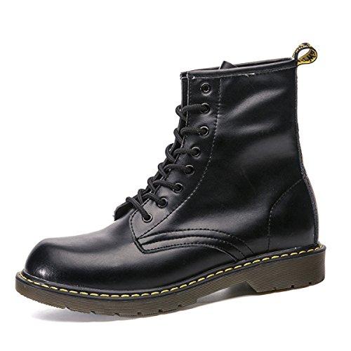 Stringate Primavera Martin Scarpe Scarpe da Uomo ZPFME Scarpe da Smart Stivali in Autunno Uomo Pelle Formali da Black Lavoro aBxqfP4