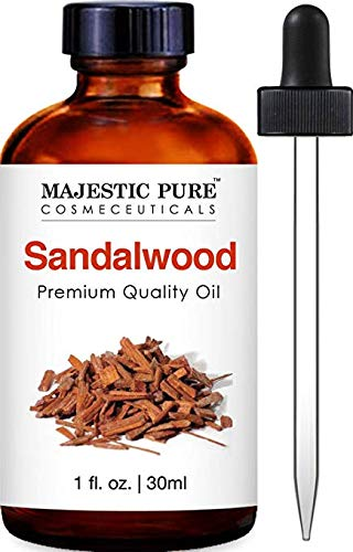 Majestic Pure Sandalwood Oil - Premium Quality Fragrance Oil - 1 fl - Fragrance Sandalwood Oil