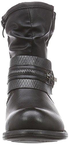 Rieker 96754 - Botas Mujer negro - Schwarz (schwarz/granit / 00)