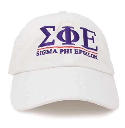(Ann Arbor T-shirt Co. Sigma Phi Epsilon | Classic SigEp Fraternity Baseball Rush spe Frat Hat Cap)