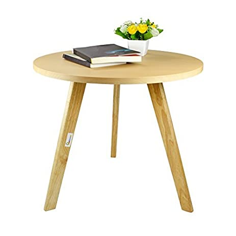 Amazoncom Geboor Wood End Table Nesting Corner Table Coffee Table - 24 inch round cocktail table