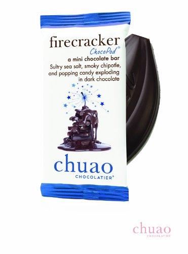 Chuao Chocolatier ChocoPod, Firecracker (Dark Chocolate), 0.39-Ounce (Pack of 12) -