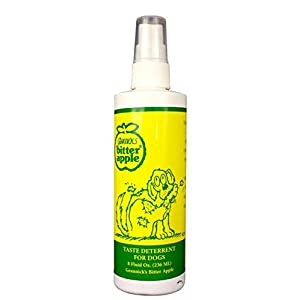 Grannicks Bitter Apple Liquid 1, 8 oz Chewing Deterrent Spray, Anti Chew Behavior Training Aid for Dogs and Cats; Stops…