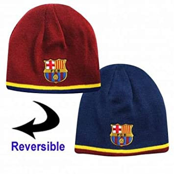 45e42cdc926 ... france fc barcelona reversible beanie hat by barcelona f.c. 8c2af e048f