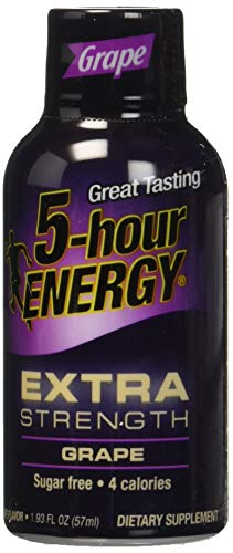 grape 5hr energy - 5