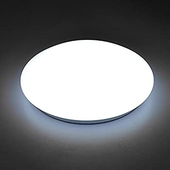 Afsemos 14 inch led flush mount ceiling light 18w4500k round ceiling lighting