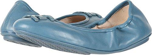 Sam Edelman Women's Florence Denim Blue Nappa Luva Leather 7 W US ()