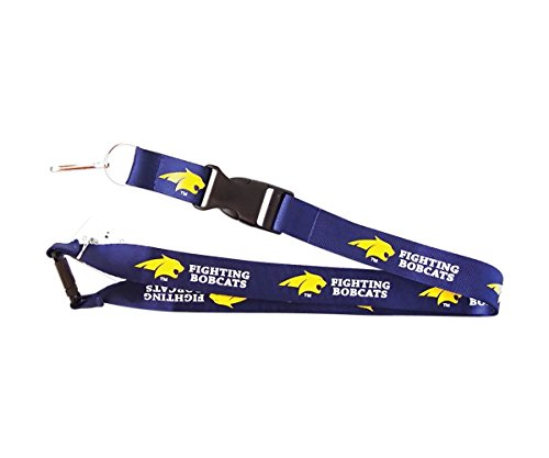 - aminco Montana State Fighting Bobcats Lanyard Keychain Id Holder Ticket