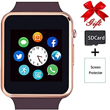 Amazon.com: Smart Watch Color Touch Screen Bluetooth Smart ...