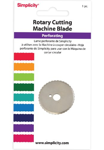 Simplicity Perforating Rotary Cutting Blade