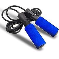 ASEKUN Cuerda para Saltar Ajustable, Salto a La Comba para Cardio Rápido y Entrenamiento de Resistencia, Cuerda Ligera y…