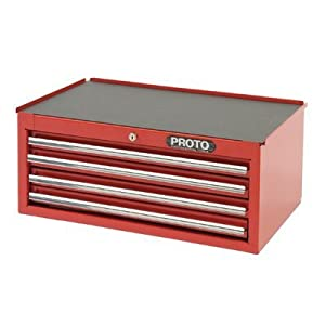 7. Stanley Proto J442710-4Rd-Ic 440SS Intermediate Chest, 4 Drawer, Red