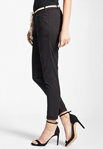 Khujo Pantalon Femme Slim Noir Uni rprRTXaSq