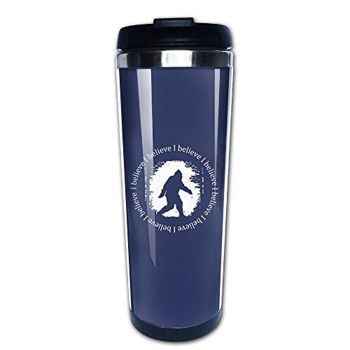 I Believe In Bigfoot Travel Mugs Coffee Tumbler - Icarly Cup