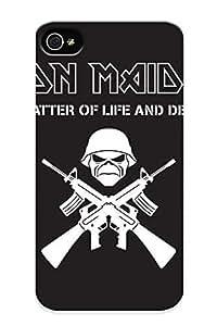 Faddish Phone Iron Maiden Bands Groups Entertainment Hard Rock Heavy Metal Eddie Album Covers Art Skulls Dark Samsung Galaxy Note4 / Perfect Case Cover